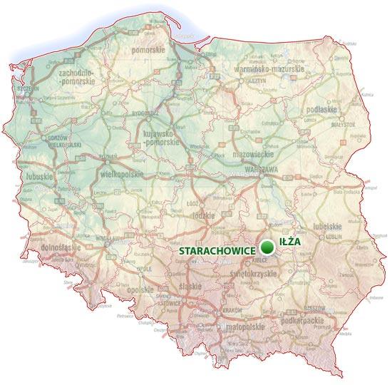 położenie SKW w Polsce