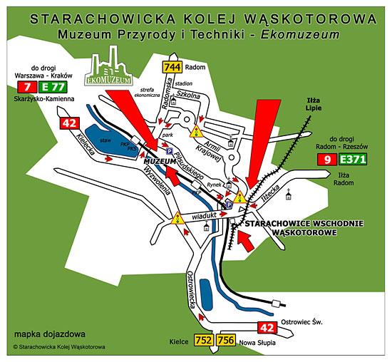 dojazd w Starachowicach