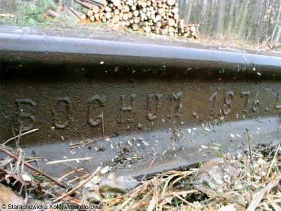 szyna z 1876 roku