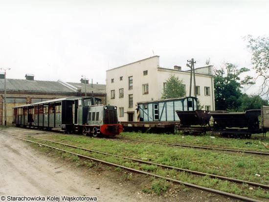 skład przed lokomotywownią